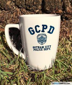 Gotham City Police Department Mug by LeRage Shirts