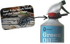 Green Oil re-uses everything!