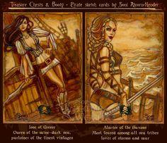 Historical Pirate women 6 by Bohemian Weasel