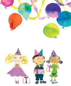 Birthday party - watercolor by Sujean Rim Beatrix Potter, Graphic Design Illustration, Illustration Art, Creative Inspiration, Design Inspiration, Watercolor Birthday Cards, Design Graphique, African American Art, Children Images
