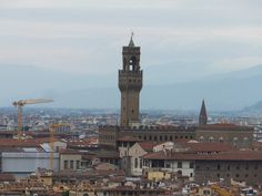 Le panorama de Florence depuis l´esplanade Michel-Ange Florence, Panorama, Blog Voyage, Toscana, San Francisco Ferry, Cities, Around The Worlds, Lifestyle, Building