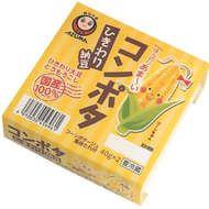 """新感覚!?""""コンポタ風味たれ""""付き「コンポタひきわり納豆」--ほんのりあま~い味わい - えん食べ"""