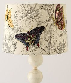 Good Feng Shui attracts health and wealth, creating beautiful and modern interior decorating Feng Shui, Butterfly Lamp, Butterfly Wallpaper, Butterfly Wings, Anthropologie Home, Fabric Blinds, I Love Lamp, Idee Diy, Lamp Shades