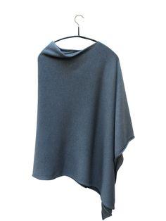 cashmere + silk poncho
