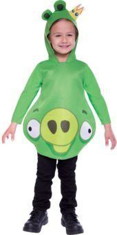 Toddler Boys King Pig Costume