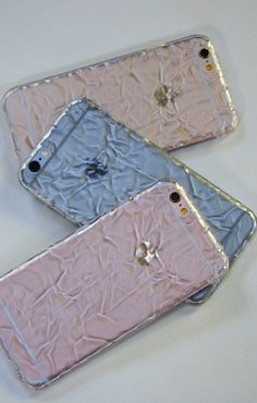 Clear Crystalline Case for iPhone 6 | 6s and iPhone 6 Plus | 6s Plus from Elemental Cases. Gold | Space Gray | Rose Gold show off your iPhone without blending in!