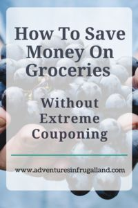 Learn how to save money at the grocery store, without touching a coupon!