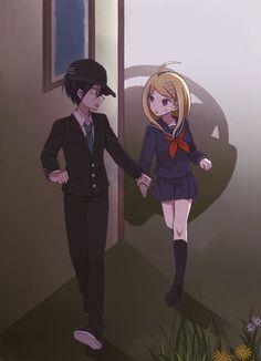 Kaede and Shuichi