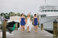 Walking the docks to the SOLARIS yacht