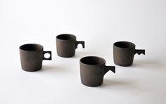 Les céramiques de Keiichi Tanaka.