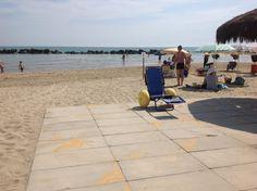 Mare Accessibile riaperte al pubblico le due spiagge di Montesilvano