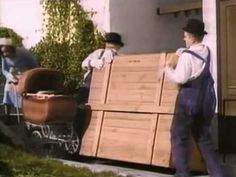 Laurel & Hardy - the piano delivery