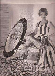 Fashion Magazin Editorial Photo*Louise Dahl-Wolfe 1957