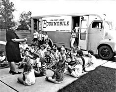 Why did the chicken cross the road?…to get to the bookmobile! | TLCPL Blog celebrating the history of the Library Bookmobile in Toledo, Ohio.