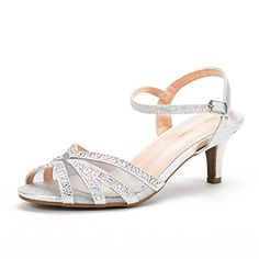 2467a265cfaf DREAM PAIRS NINA-150 Women s Summer Ankle Strap Rhinestones Open Toe ...