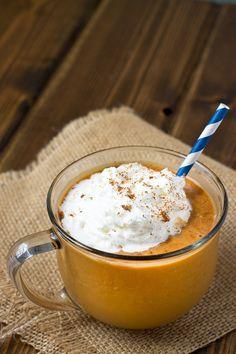 #DRINKRECIPE - Pumpkin Spice Frappuccino