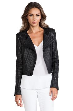 RACHEL ZOE Everett Cropped Jacket in Black from REVOLVEclothing sz 2 or 4 left!  $1,125.00 faveey baby!
