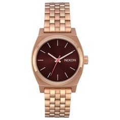 02d9f7f53a Nixon Medium Time Teller - Women Wrist Watch on YOOX. The best online  selection of Wrist Watches Nixon.