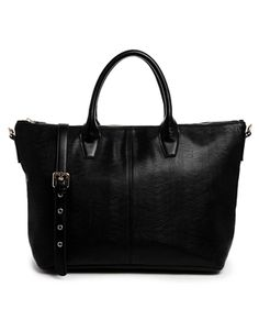 ASOS Zip Top Handheld Bag