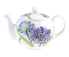 Théière porcelaine AGAPANTHUS, multicolore - 1300 ml