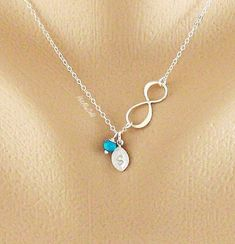Mother's+day+Necklace+Infinity+Necklace+Tiny+by+hotmixcold+on+Etsy,+$31.00