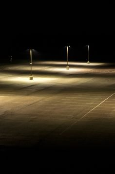 """It feels like an empty parking lot in the middle of the night, I shouldn't be here, why am I here."" -hm"