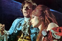 "Roman Polanski and Sharon Tate in ""The Fearless Vampire Killers."""