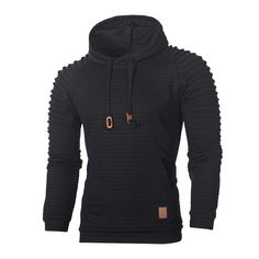 online shopping for NSSMWTTC Men's Hooded Sweatshirt Pleated Long Sleeve Hoodie Pullover Sport Outwear from top store. See new offer for NSSMWTTC Men's Hooded Sweatshirt Pleated Long Sleeve Hoodie Pullover Sport Outwear Hoodie Sweatshirts, Sweatshirt Homme, Warm Coats For Men, Sweat Shirt, Mens Winter Parka, Sport Pullover, Pull Sweat, Plaid Hoodie, Thing 1