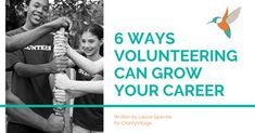 How volunteering can help you build skills for your career
