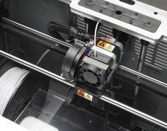 The extruder on the Dremel 3D Idea Builder