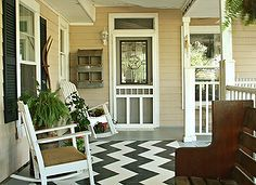 a cozy spot on the front porch, decks patios porches, outdoor living, There s only one chance to make a first impression I want people to feel loved and welcome when they come to my front door