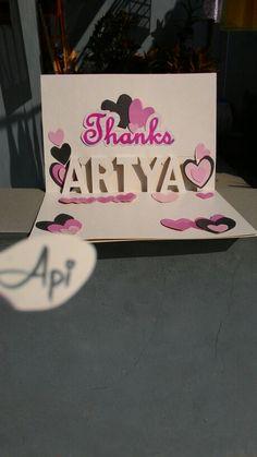 Pop up Thanks ARTYA