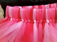 Your Retail Helper: DIY Valentine's Day Projects: Handmade Tulle Skirt for $7