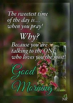 Good Morning...have a happy and blessed day!