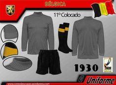 Belgium goalkeepers kit for the 1930 World Cup Finals.