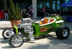 T-bucket. Art of the Automobile car show in Daytona Beach, 5/5/2012. Photo by Luis — The Motor Bookstore.