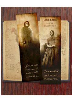 Bookmark - Charlotte Bronte's Jane Eyre inspired.