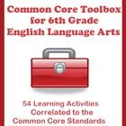 54 Learning Activities Correlated to the Common Core Standards    Including  •34 Printable Handouts for Students  •10 Figurative Language Warm-ups  •...