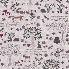Lecien Wildflower by Lynette Anderson - just look at the imagery on these fabrics