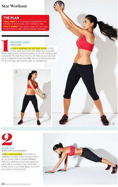 Nicole Scherzingers Workout