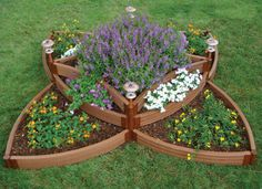 Butterfly raised bed garden kit from National Gardening Association.