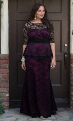 Plus Size Evening Gown | Kiyonna Plus Size Formal Gowns