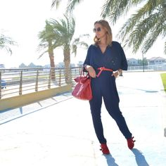 Jumpsuit Outfits and Tips - view post here: http://modedevoted.com/2015/12/ootd-jumpsuit-outfits-and-tips.html