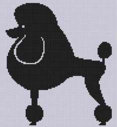 Looking for your next project? You're going to love Poodle Cross Stitch Pattern by designer Motherbeedesigns. - via @Craftsy