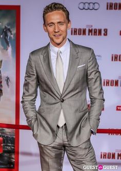 Sexy shades of grey Mr. Hiddleston<<--What do you expect?