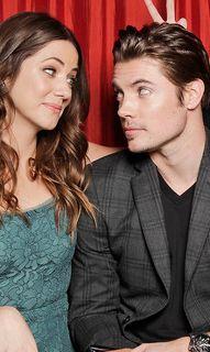 """My """"Dallas"""" favorites: Julie Gonzalo (as Pamela) and Josh Henderson (as John Ross)"""