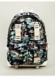 x nowartt collaboration series santa backpack