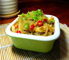 Pickled Chinese Cabbage with Shredded Meat and Vermicelli
