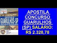 Apostila Concurso Público Guarulhos SP Professor de Educação Básica 2016