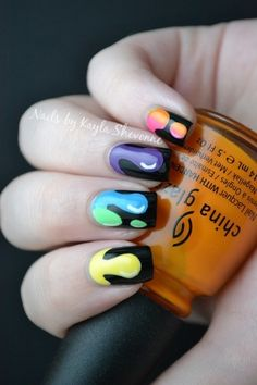 Nails by Kayla Shevonne: 31 Day Challenge - Day 9: Rainbow Nails
